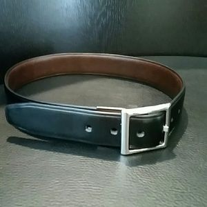 Youth Chaps black leather belt (size XS)